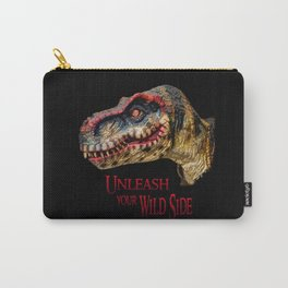 T-Rex Dinosaur - Unleash your wild side Carry-All Pouch