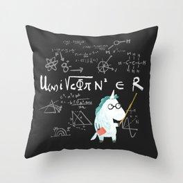 Unicorn = real Throw Pillow