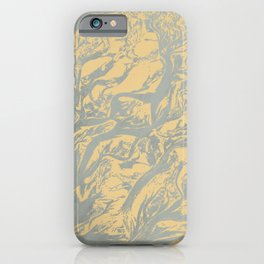 Nature patterns with soft pastel colors for decoration iPhone Case