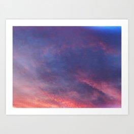 Vibrant Nights Art Print