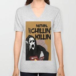 Scream killer Unisex V-Neck
