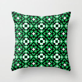 cuadrilongos Throw Pillow