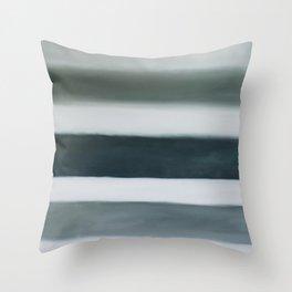 grey strata Throw Pillow