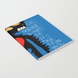 Blue Man Jazz Notebook