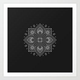 Mandala XLIII Art Print