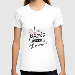 From Paris With Love | Typographic T-shirt