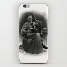 The Omnivorous Reader iPhone & iPod Skin