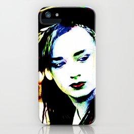 Boy George - Karma Chameleon - Pop Art iPhone Case