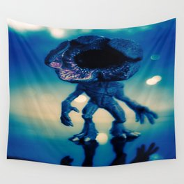 """Searching for its next victim"" Wall Tapestry"