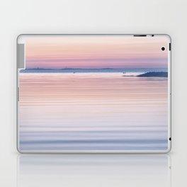 Pastel ripples sea and sky Laptop & iPad Skin