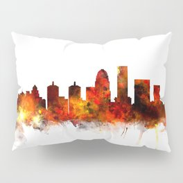 Louisville Kentucky City Skyline Pillow Sham
