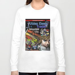 Video Game Trader #15 Cover Design Long Sleeve T-shirt