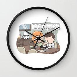 Force-Choked Wall Clock