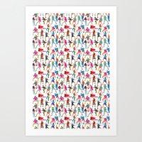 Dance, Dance, Dance! Art Print