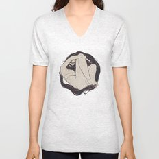 My Simple Figures: The Circle Unisex V-Neck