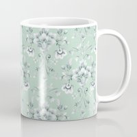 damask Mugs featuring Damask... by Catherine Ann Lewis