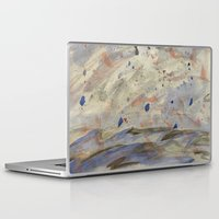 anxiety Laptop & iPad Skins featuring Anxiety by Kali Thomas