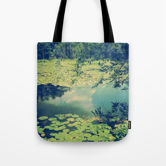Lily Pad Pond Tote Bag