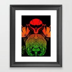 samus Framed Art Print