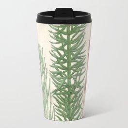 Botanical Horsetail Plants Travel Mug