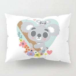 Koala Bear Love / Cute Animal Pillow Sham