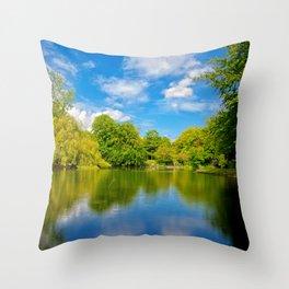 St. Stephen's Green Throw Pillow
