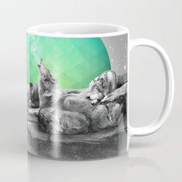 Echoes of a Lullaby / Geometric Moon Coffee Mug