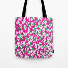 Love hearts Tote Bag