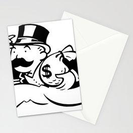Money man Stationery Cards