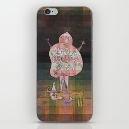 Ventriloquist iPhone Skin