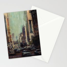 Life's Just a Cocktail Party on the Street Stationery Cards