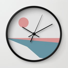 Sunrise at Newton Wall Clock