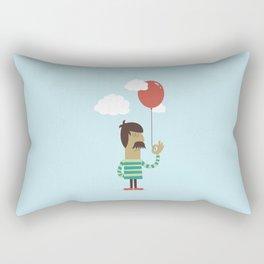 Balloon Man Rectangular Pillow