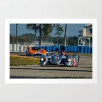 audi Art Prints featuring Audi P1 Sebring raceway by Aaron Joslin Photography