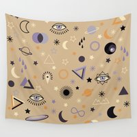 universe Wall Tapestries featuring Universe by Marta Olga Klara