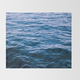 Dark Waters Throw Blanket