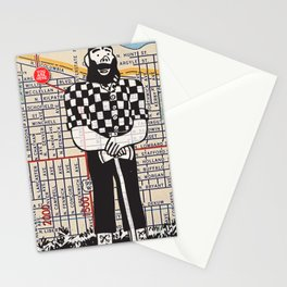 Paul Bunyan statue, North Portland, You Are Here, Portland. Stationery Cards