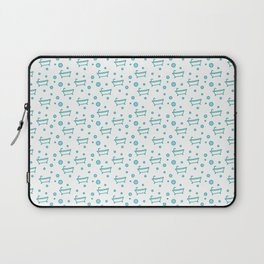 Rub a dub dub, bubbles and a bathtub (white) Laptop Sleeve