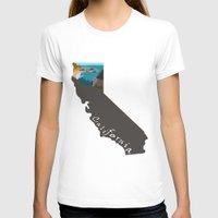 big sur T-shirts featuring California: Big Sur by Brooke Loeffler