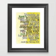 Anaïs Nin on Love, I Framed Art Print