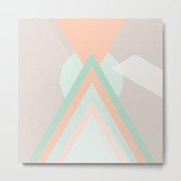 Icosahedron Metal Print
