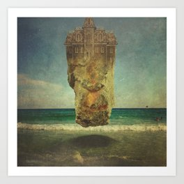 Ode to Magritte Art Print