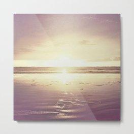 Purple Shores Metal Print