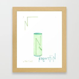 Nitrogen In A Can Framed Art Print
