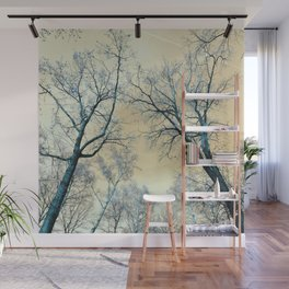 Trees nature infrared Wall Mural