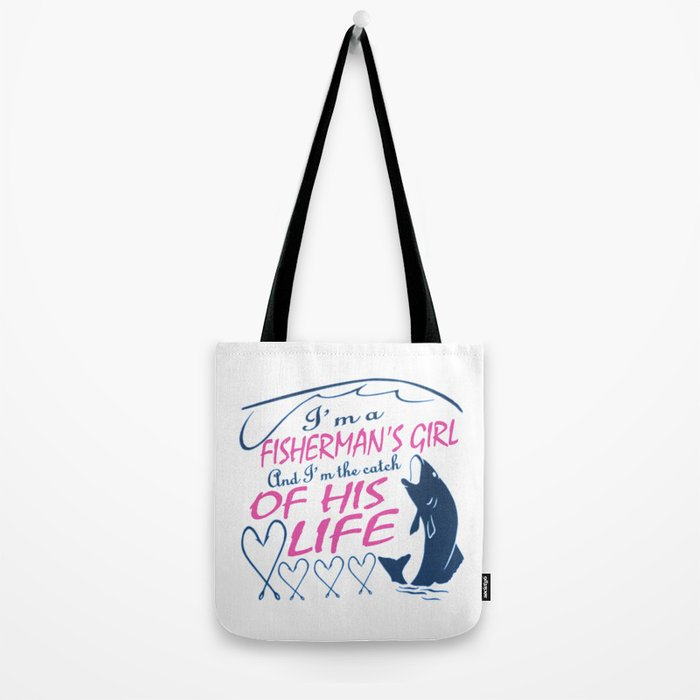 Fisherman's Girl Tote Bag