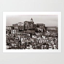 "Urban Landscape of Sicily ""VACANCY"" zine Art Print"
