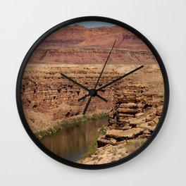 Colorado_River - Marble_Canyon II, Arizona Wall Clock