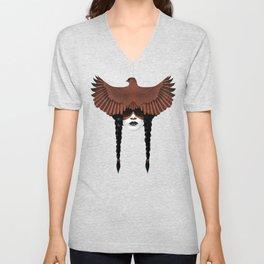 Dark Cardinal Unisex V-Neck