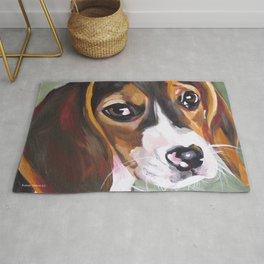 Beagle Pet Art Rug